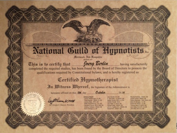NGH Certificate